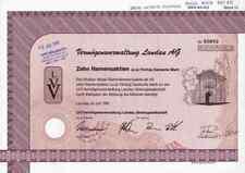 LVV Vermögensverwaltung Landau 1991 Kaiserslautern Kitzingen 500 DM eingezahlt