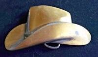 Western Cowboy Belt Buckle  Brass Look  NWOT