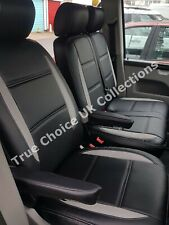 VW Transporter T5 (2004-2015) 6 Seater Leatherette Seat Cover