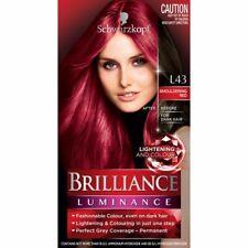 Schwarzkopf Live Brilliance Luminance L43 Smouldering Red Hair Colour