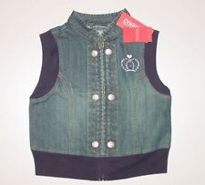 Denim Vest Sleeveless Outerwear (Sizes 4 & Up) for Girls
