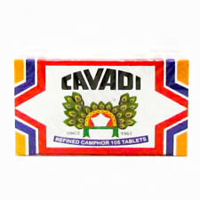 210 REFINED CAMPHOR TABLETS PURE & NATURAL TABLETS (CAVADI BRAND)