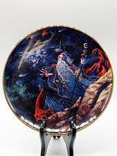 "Royal Doulton Myles Pinkney Franklin Mint ""Dragon Star� Plate 8�W"