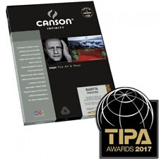 Canson Infinity Baryta Prestige 340gsm  Fine Art Paper A4 25 Sheets