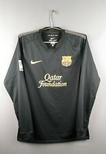 Barcelona jersey Medium 2011 2012 sleeve shirt soccer football Nike ig93