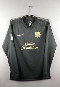 Barcelona jersey Medium 2011 2012 sleeve shirt soccer football Nike ig93
