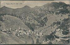 FUSIO Cartolina non viaggiata Ticino