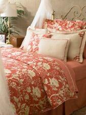 Ralph Lauren Villa Camelia Floral Chinoiserie 4P Queen Duvet Cover Shams Set