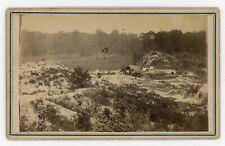Civil War Baton Rouge CDV Port Hudson Battlefield by McPherson & Oliver c1863