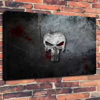 """The Punisher Printed Box Canvas Picture A1.30""""x20"""" 30mm Deep Frame Wall Art"""