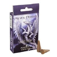Age of Dragons 'Silver Dragon' Incense Cones by Anne Stokes - Insence! (O11)