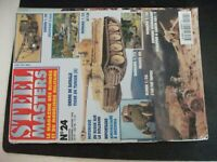 **y Steel Masters n°24 Tiger en Tunisie / T-26 soviétique / Rollbahn à l'est