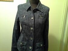 Veste façon jean bleu denim marque Anne Weybum, taille M (38-40)