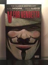 V FOR VENDETTA graphic novel Softcover Trade Paperback.New, Mint!