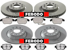FERODO VW TIGUAN FRONT AND REAR BRAKE DISCS & PADS  2007 - ONWARDS (REAR 282MM)