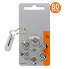 Power Special Size 13 Zinc Air Hearing Aid Batteries (PR48) +2 bonus in Keychain