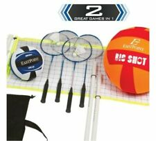 EastPoint Sports Volleyball Badminton Combo Set with BONUS Oversized Volleyball