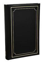 Arpan Black Soft Padded Cover Slip In Case Memo 300 6 x 4 Photo Album - AL-9170