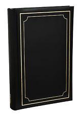 Arpan Noir rembourrage doux couvrir slip en cas Memo 300 6 x 4 album photo-al-9170