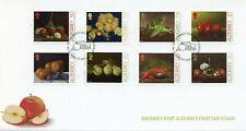 More details for alderney 2021 fdc nature stamps intl yr fruit & vegetables fruits oranges 8v set