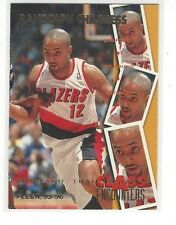 1995-96 FLEER BASKETBALL CLASS ENCOUNTERS RANDOLPH CHILDRESS #23 OF 40 - BLAZERS