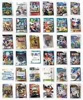 Nintendo Wii Or  U Or Gamecube Games Pick 1 New Super Mario Kart Sports Zelda