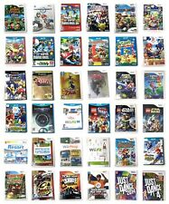Nintendo Wii Or U Or 3DS Or Gamecube Games Pick 1 Super Mario Kart Sports Zelda