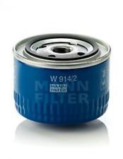 Mann W 914/2 Ölfilter Motor-Oelfilter