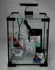 Nano Aquarium Garnelen Set incl. Filterpumpe, Beleuchtung uvm. 18,5 Liter GT6002