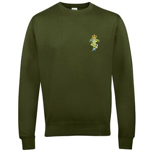 CLEARANCE: Royal Electrical & Mechanical Engineers Sweatshirt - Olive Medium