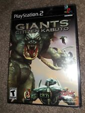 Giants: Citizen Kabuto (Sony PlayStation 2, 2001) NEW. SEALED. FREE SHIPPING.