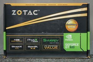 Zotac Nvidia Geforce GT 610 GT610 Synergy Graphics Video Card HDMI DVI VGA (NEW)