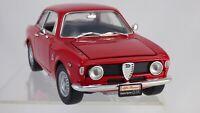 Road Signature 1:18 Red 1965 Alfa Romeo Giulia Sprint GTA Bertone Car Model Toy
