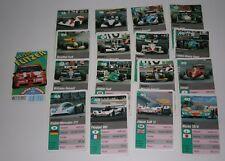Auto-Quartett Kartenspiel Heisse Flitzer FX Schmid Formel 1 Sportwagen Rallye