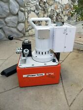 POWER TEAM ELECTRIC HYDRAULIC PUMP - DOUBLE ACTING PE554