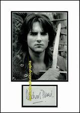 Michael Praed Robin Hood Of Loxley Autograph UACC RD 96