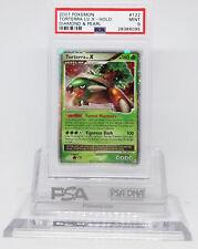 Pokemon DIAMOND AND PEARL BASE TORTERRA LV X #122 HOLO FOIL PSA 9 MINT #28386095