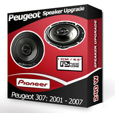 Peugeot 307 porte avant haut-parleurs voiture Pioneer haut-parleurs 240W