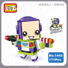 LOZ 1443 Toy Story Buzz Lightyear Robot Diamond Mini Nano Building Blocks Toy