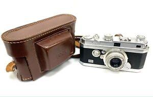 Kamera Foca PF3 3 Sterne 1947 Oplar 1:3 .5 F=5cm Mit Seiner Bezug