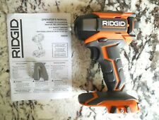 "NEW RIDGID R86035 18V 1/4"" Hex Cordless Impact Driver w/Quick Release Chuck"
