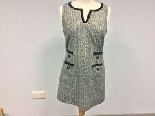 Next Black & White Tunic Dress - Sleeveless - Size 12