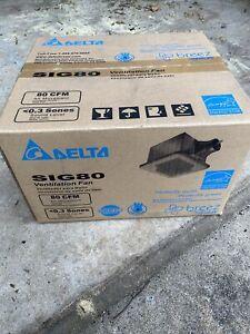 New In Box Delta SIG80 80 CFM Ventilation Exhaust Fan