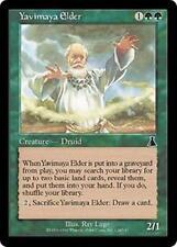 YAVIMAYA ELDER Urza's Destiny MTG Green Creature — Human Druid Com