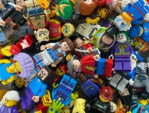 Lego Genuine Minifigures 10x Random Figures & 20x Accessories