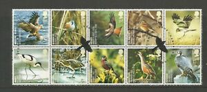 GB 2007 Action For Species (1st Series) Fine Used Block Of 10 SG 2764a