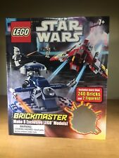 LEGO - Star Wars Brickmaster book - Used - Makes 8 models - Includes 2 Minis