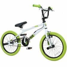 BMX 18 Zoll Bike Fahrrad Freestyle Kinderfahrrad Kind Rad deTOX weiß/grün B-Ware