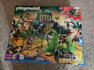 Playmobil 5134 - Pirates Adventure Island Playset Cave In Box