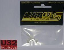 MITOOS M375 TORNILLOS + TUERCAS NYLOM M2 5+5UNIDADES